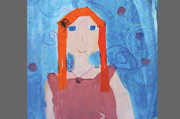 Após uma investigação sobre cores e traços físicos, os alunos produziram retratos. Arquivo pessoal/Anderson Pinheiro Santos