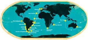 Uma viagem de descobertas. Infografia: Nelson Provazi