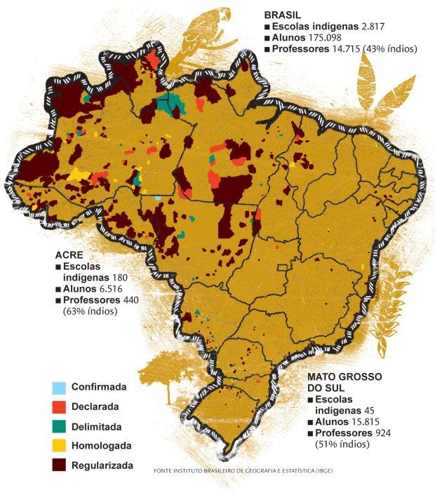 Terras indígenas do Brasil . Marcos Rufino