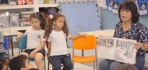 VÍDEO: O mergulho das crianças na literatura