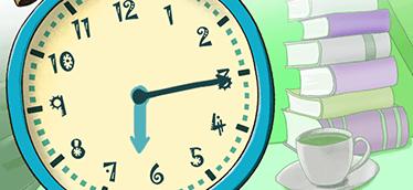 331d96ef8a3 Ensine a diferença entre relógio digital e analógico