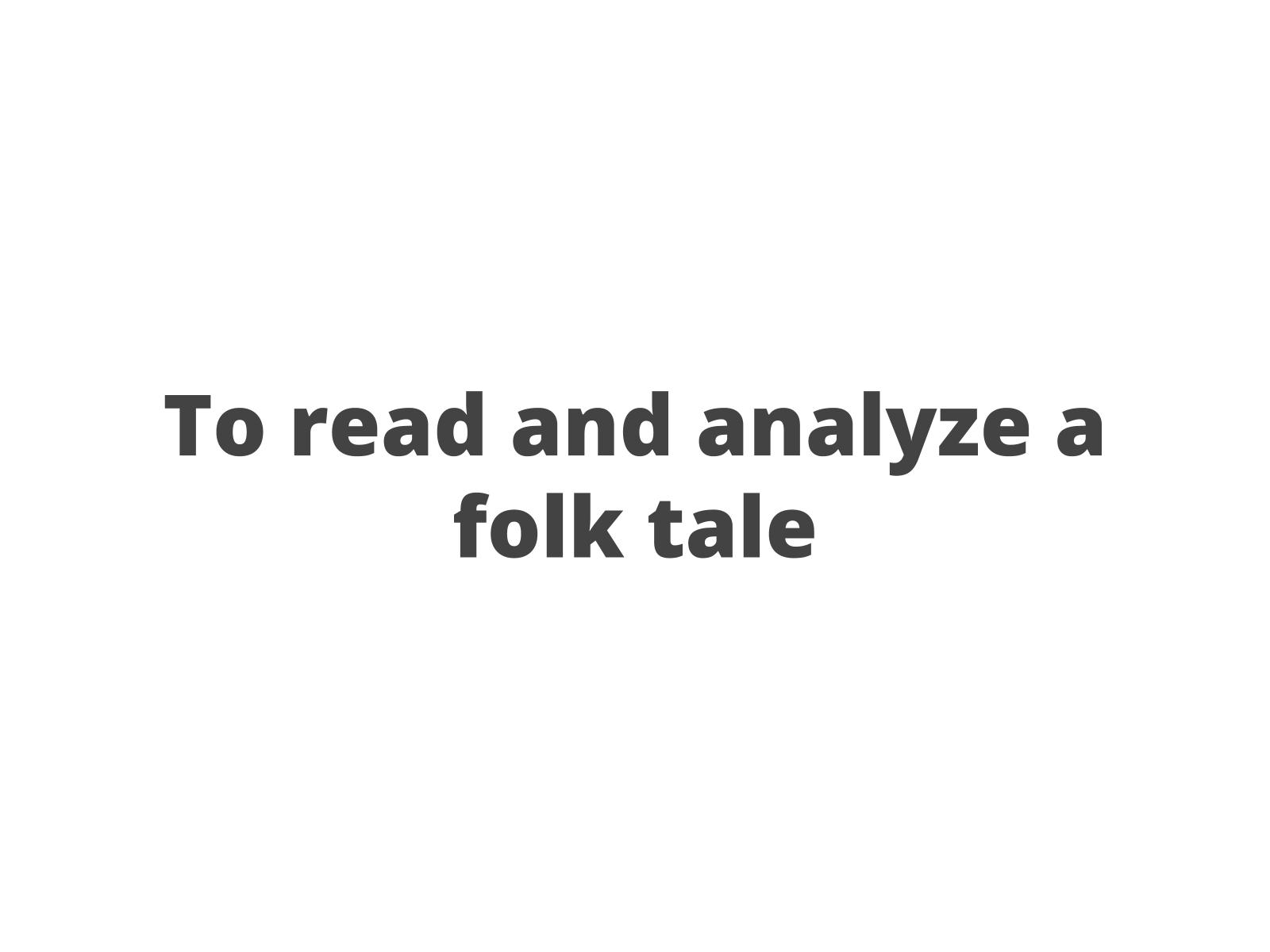 Leitura e comparação de fábula e poema I