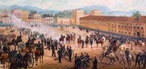 Proclamação da República, pintura de Benedito Calixto
