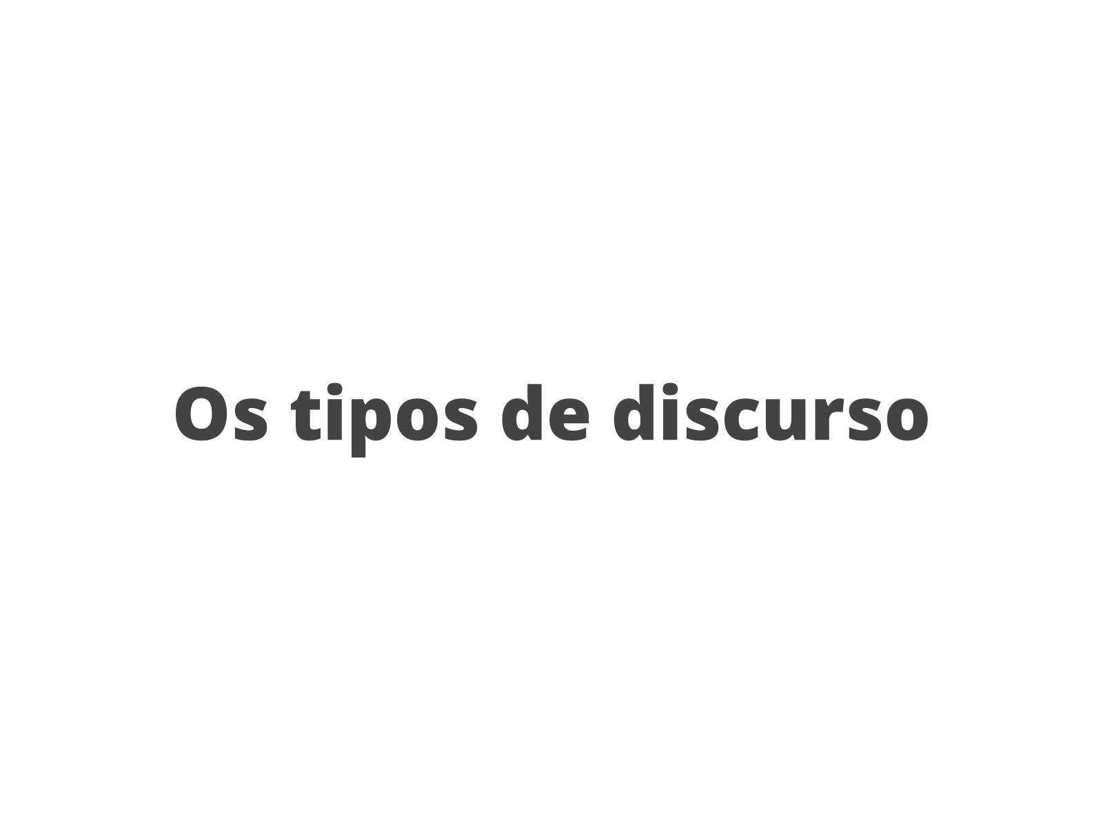 Tipos de discurso e pontuação nos contos afro-brasileiros