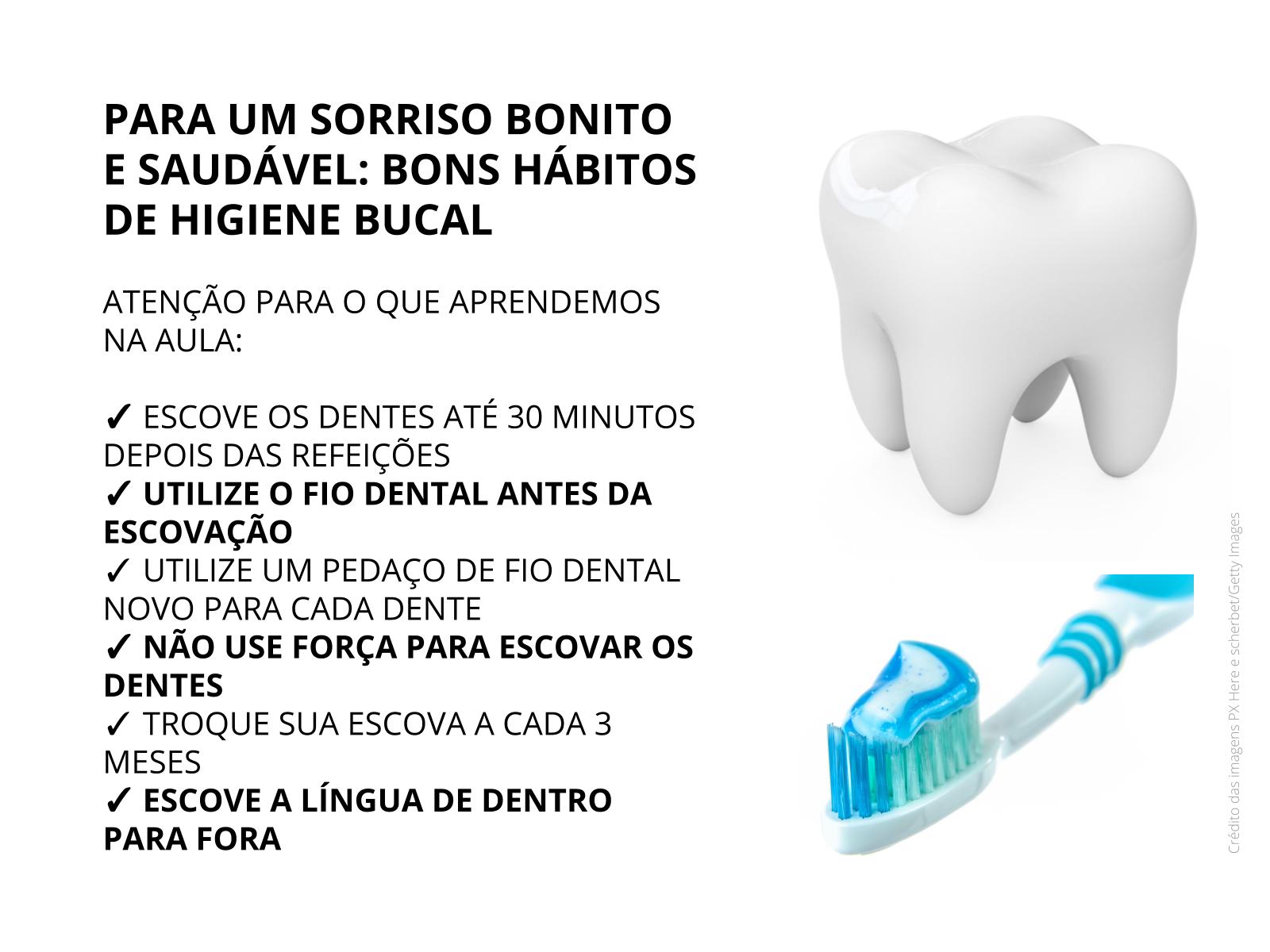 Higiene bucal para um sorriso saudável