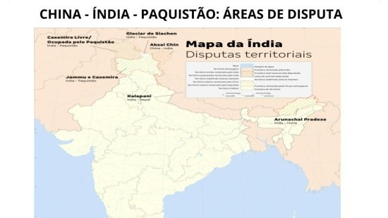 Tensões fronteiriças na Ásia