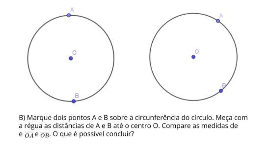 Círculo e Circunferência (Elementos)