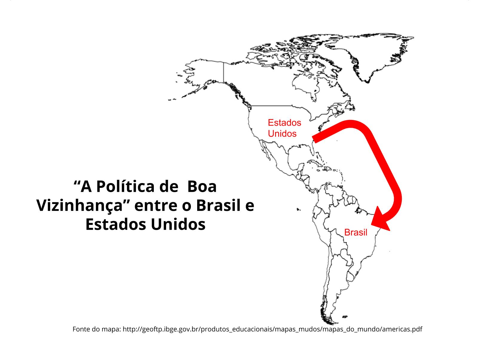 """""""A Política da Boa Vizinhança"""" nas relações entre o Brasil e Estados Unidos na Segunda Guerra Mundial"""