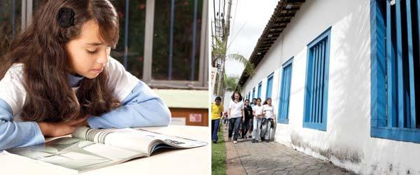 ANÁLISE E PRÁTICA A avaliação de diferentes formas documentais propicia o levantamento histórico da comunidade. Fotos: Paulo Vitale e Marcos Rosa