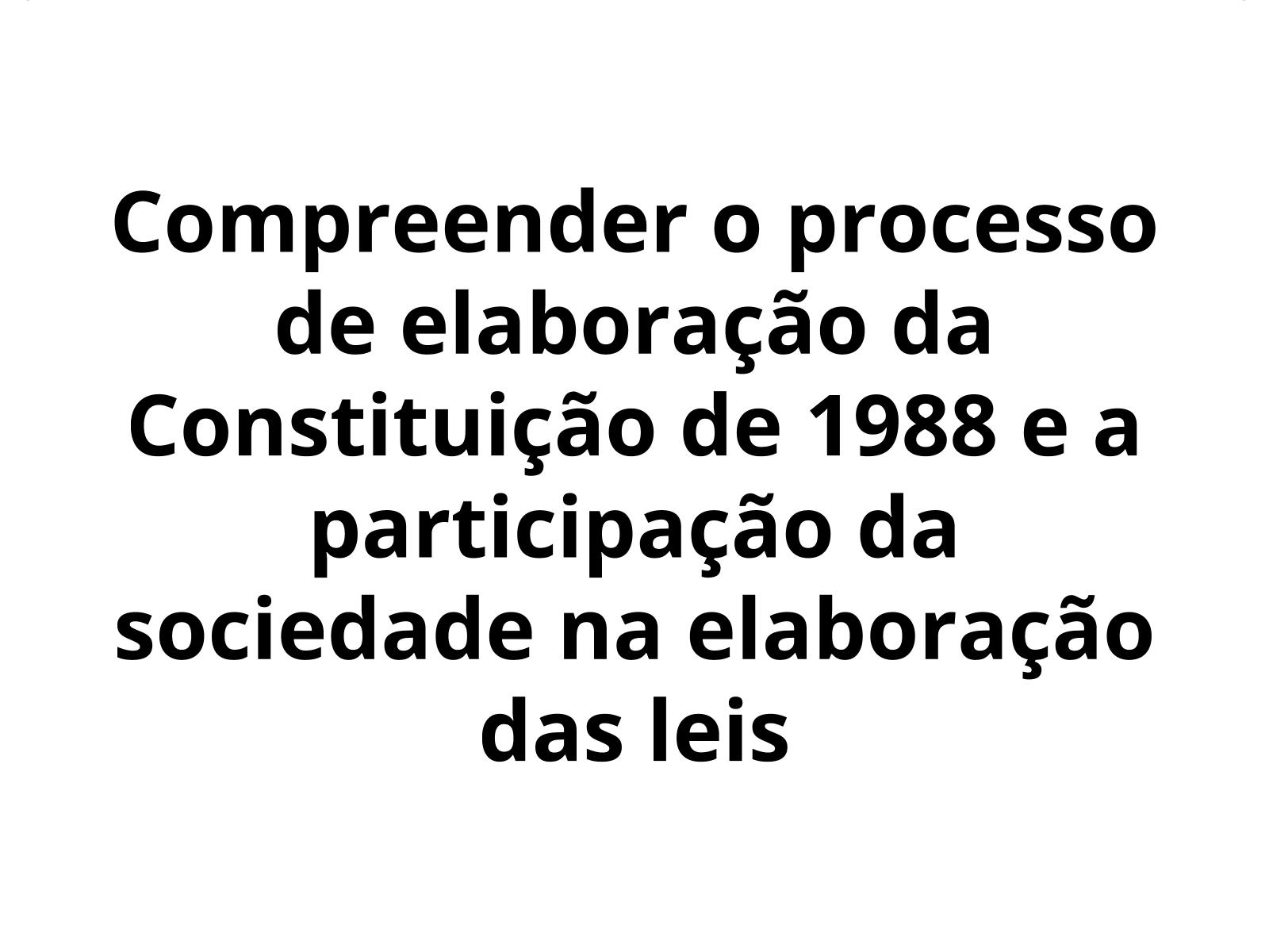 A constituinte de 1988: o povo volta a ter voz!