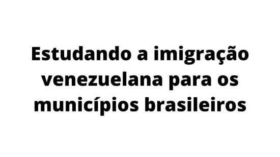 Como acolher os imigrantes venezuelanos?