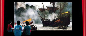 Cena do filme 1492 - A Conquista do Paraíso: oportunidade de discutir o descobrimento da América.Foto: Gustavo Lourenção/Filme: Divulgação