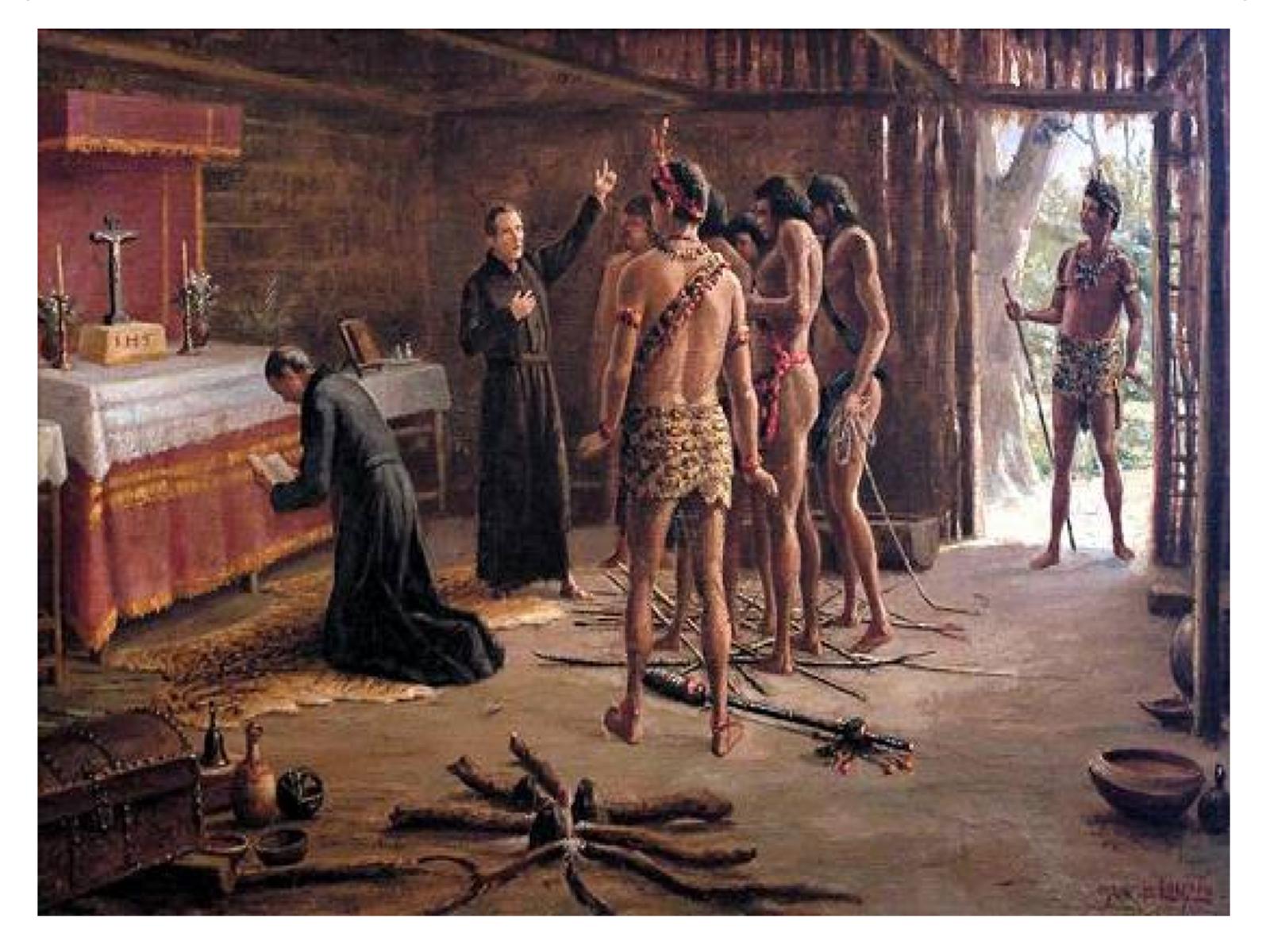 A  Companhia de Jesus e a conversão indígena