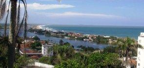 Vista aérea do município de Barra Velha (SC)