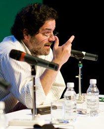 Horácio Itzcovich na Semana da Educação 2010. Foto de Marina Piedade