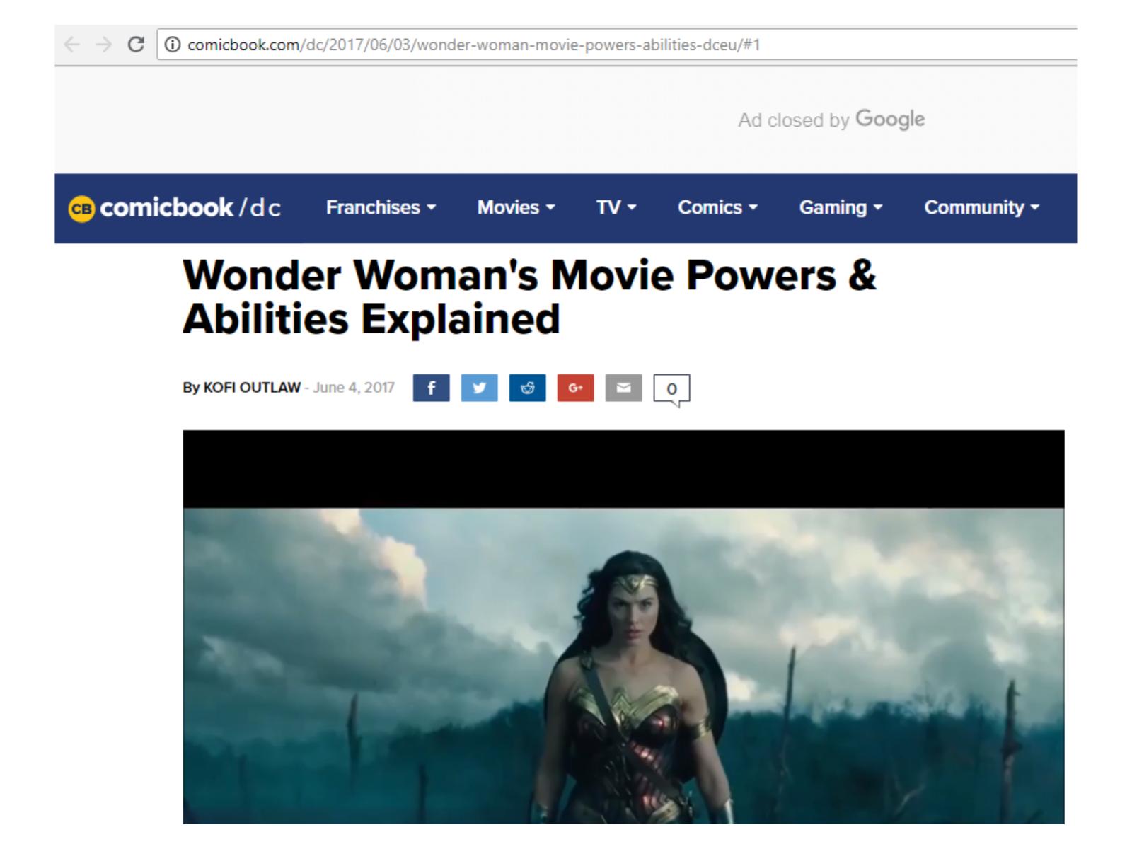 Perfil de super-herói