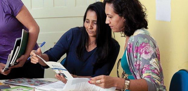 Reportagem sobre o projeto que deu a Janaina Oliveira Barros o título de Gestora Nota 10 do Prêmio Victor Civita de 2013. Foto: Marina Piedade