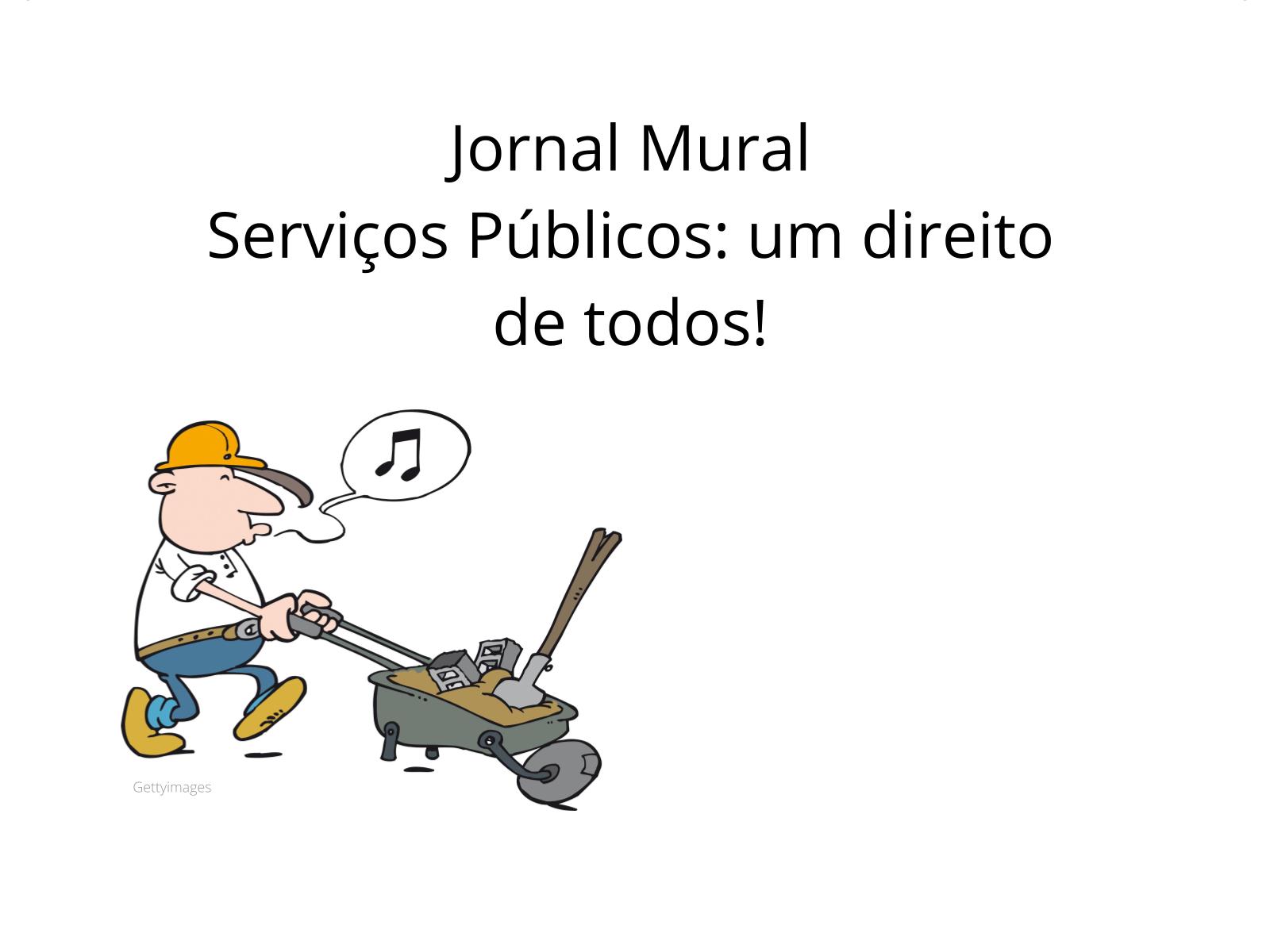 Serviços públicos: um direito de todos!