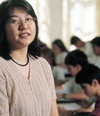 Cristiane Ishihara, professora de Matemática da 5ª série no Colégio Assunção, em São Paulo. Foto: Masao Goto Filho