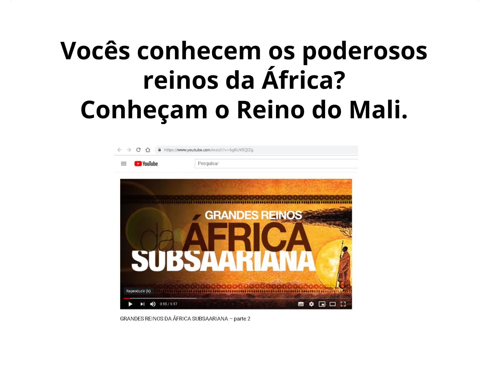 Dos poderosos reinos africanos ao deslocamento forçado para o Brasil