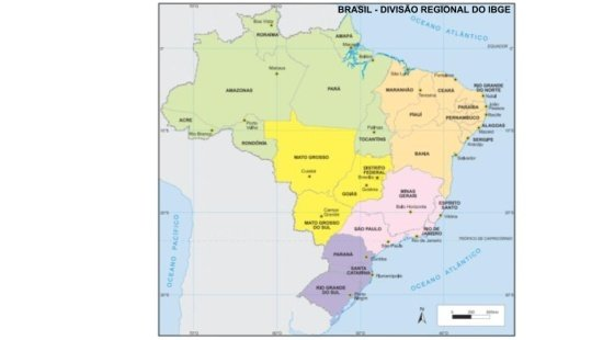 Regiões do Brasil - IBGE