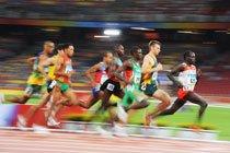 Prova de atletismo nos Jogos Olímpicos de Pequim. Foto: Alexandre Battibugli