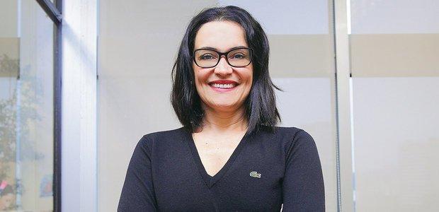 Maria Cardoso Senatore, mestre em Língua e Cultura Italiana para estrangeiros na Universidade de Estudos de Módena e Reggio Emilia (Unimore), na Itália. Foto: Victor Malta