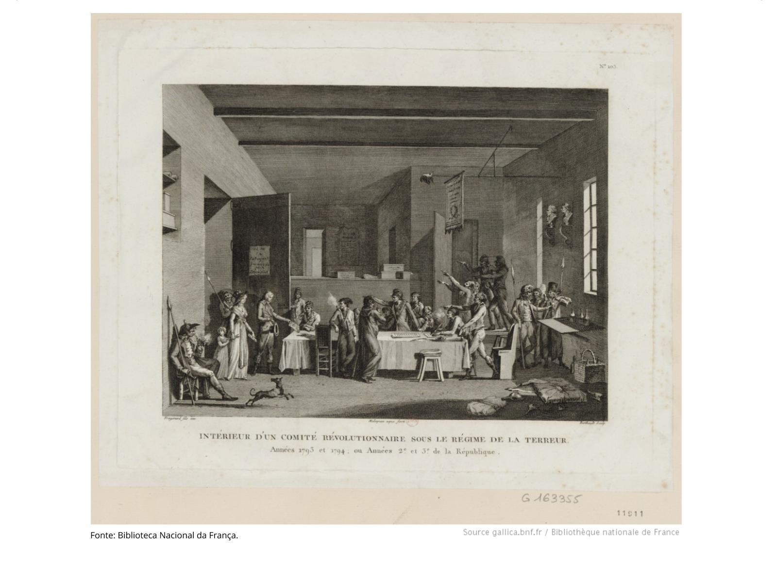 A Revolução Francesa e o período do Terror jacobino (1793-1794)