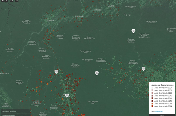 Site Infoamazônia