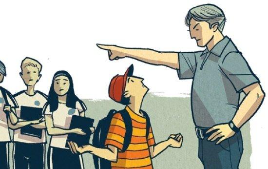 3683315c85 Assim não dá! Barrar alunos que estejam sem uniforme - Barrar alunos ...