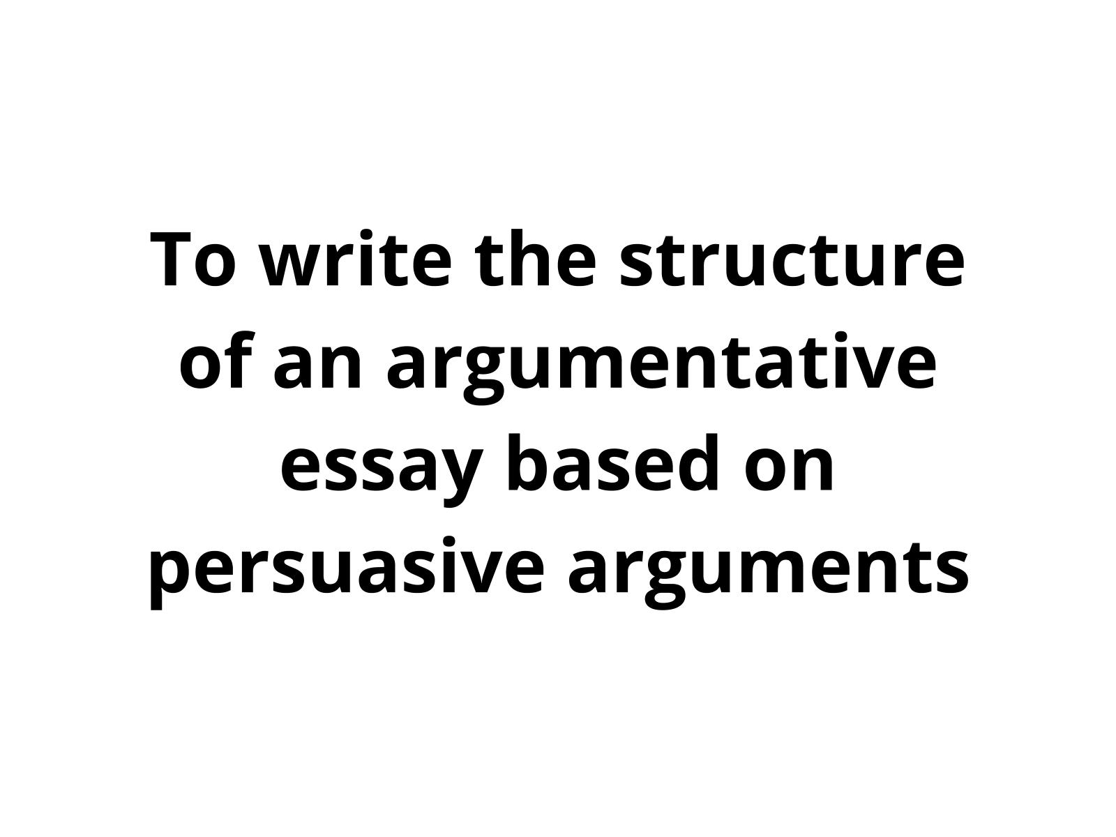 Estratégias de escrita - construção da persuasão