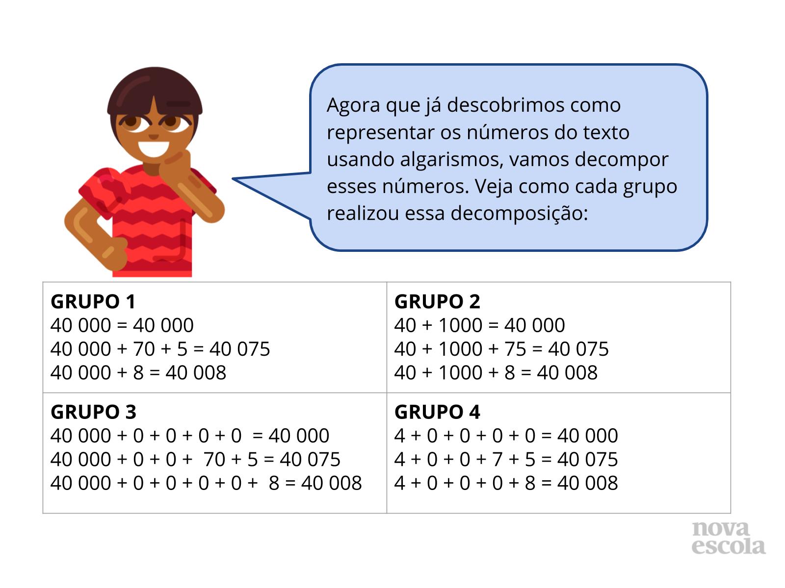 Representando números naturais no Q.V.L