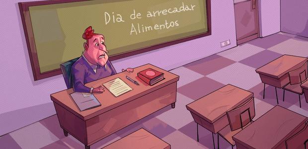 Para não prejudicar o desenvolvimento dos planos de ensino, é importante concentrar as atividades extraclasse no contraturno. Ilustração: Andre Rocha