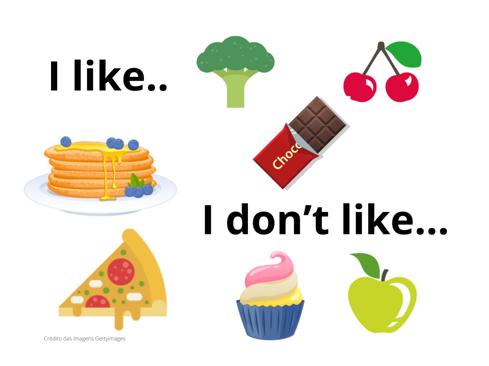 Gostos e Preferências