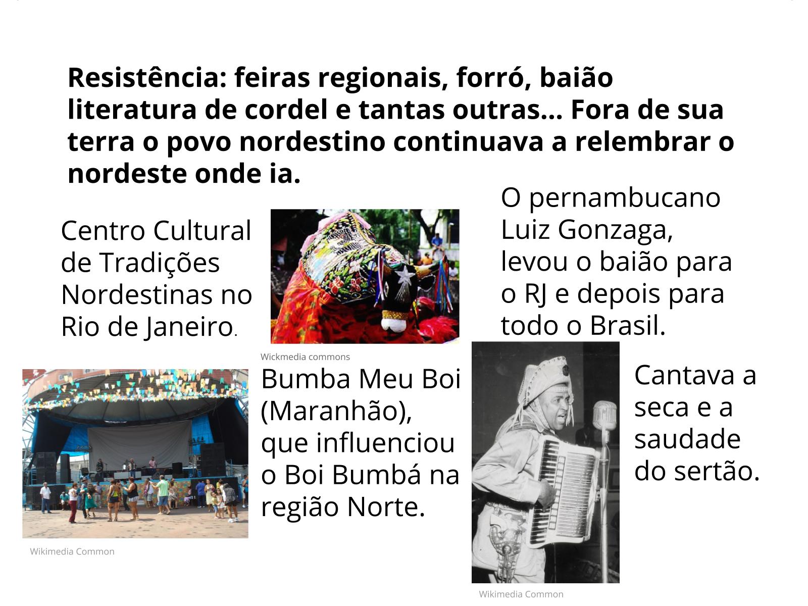 Fluxos migratórios internos: nordestinos pelo Brasil