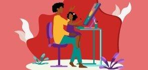 Qual é a melhor estratégia para aulas a distância para crianças dos anos iniciais?