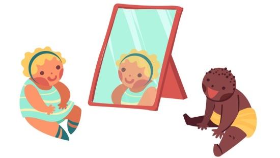 O que eu vejo quando me olho no espelho?