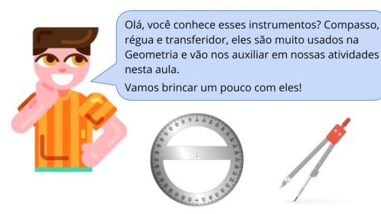 Identificar ângulos (inscritos/centrais) em circunferências