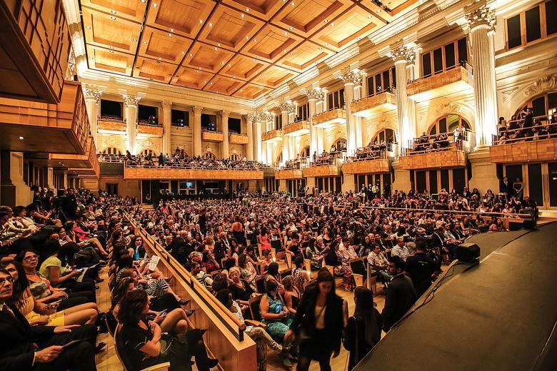 Auditório da Sala São Paulo lotado