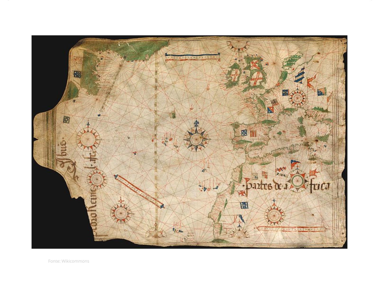 A expansão marítima europeia  e a chegada dos portugueses ao Brasil
