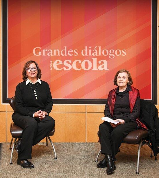 Delia Lerner e Regina Scarpa conversam sobre alfabetização