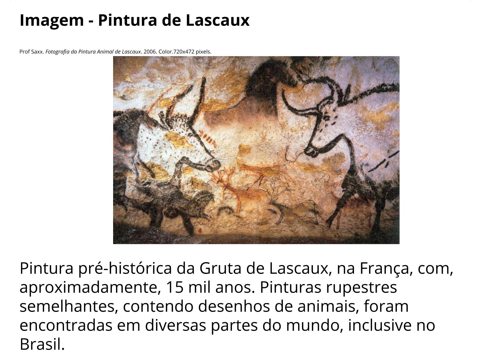 A natureza e o seres humanos primitivos na arte rupestre