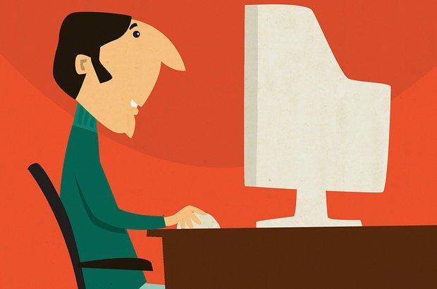 Surge a World Wide Web, um sistema global de computadores interligados. A audiência, passiva nos meios anteriores, passa a ser ativa. Sergio Magno