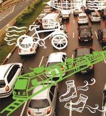 Congestionamentos em uma cidade grande e propostas de intervenção urbana