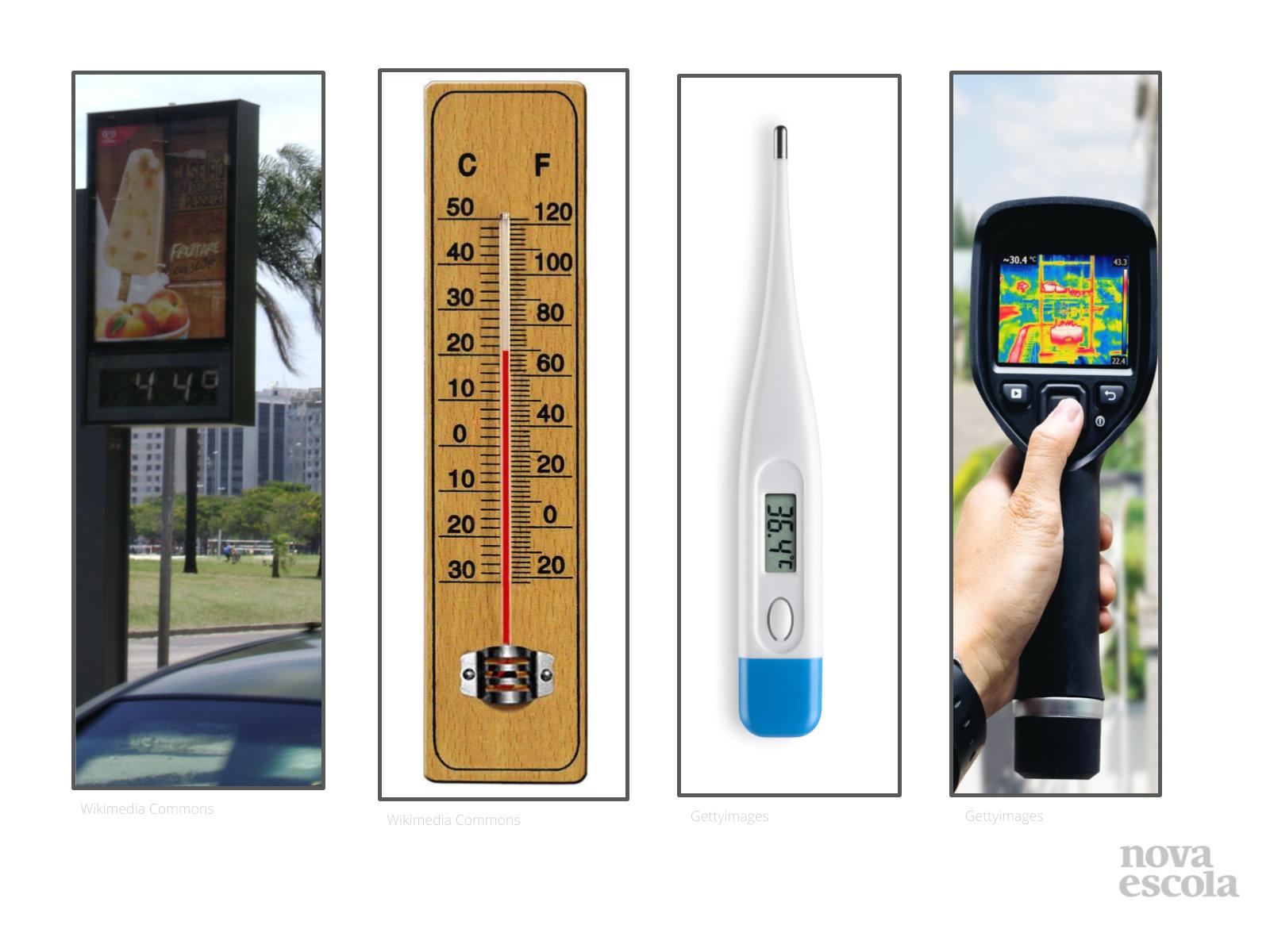 Como medir a temperatura?