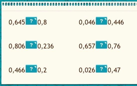 Três dígitos decimais