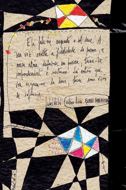 Os livros de artista de Isabel de Sá serviram de inspiração para as produções dos alunos. Arquivo pessoal/Isabel de Sá e Sirlene Rodrigues