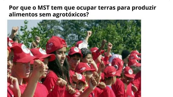 O Movimento dos Trabalhadores Sem Terra brasileiro