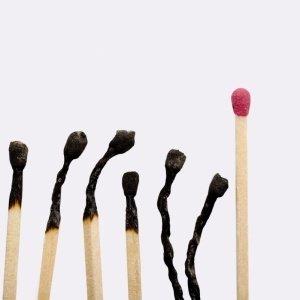 Fósforos queimados