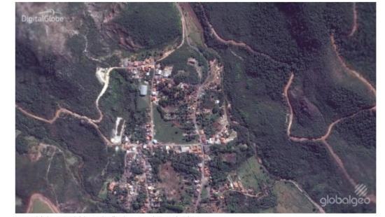 Transformações de paisagens e imagens de satélite